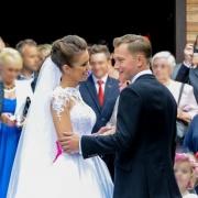 Piękny ślub Kuby Wesołowskiego i Agnieszki Szczurek